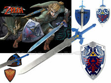 FULL SIZE Legend of Zelda Link's Hylian Shield + Link's Master Sword Combo Set