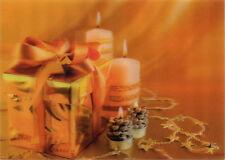 Christmas Spirit - 3D Lenticular Postcard -Greeting Card