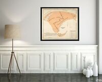 1893 Map of Barnstable | Provincetown | Massachusetts Map Reproduction | Vintage