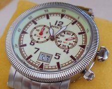 Rare Mint Invicta 4327 Luxury Vintage Collection II Alarm Watch w/Box