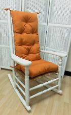 Sunbrella Rocking Chair Cushion Set Indoor / Outdoor Use - Tuscan