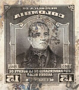 American Bank Note Company: Colombia Printing Plate