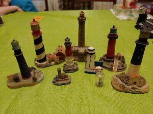 Miniature lighthouses