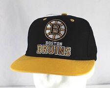 Boston Bruins Black/Yellow NHL Baseball Cap Snapback