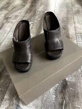 •••$1095.00 RICK OWENS Darkdust Shoes Sandals 38 NEW•••