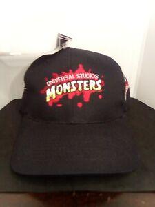 Universal Studios Monsters Castrol Syntec Baseball hat cap NWT October 2000 Rare