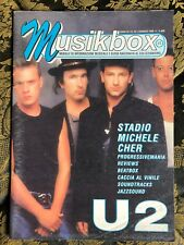 MUSIKBOX 25 Magazine about discography ps U2 Stadio CHER Michele Soundtracks