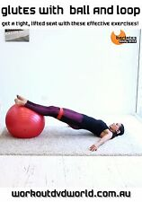 Fit Ball and Band Exercise DVD - Barlates Body Blitz GLUTES with Ball and Loop