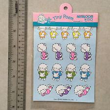 1976 Sanrio Tiny Poem ArtBloom Stickers Seals