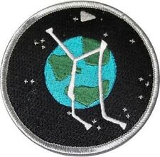 Stargate Atlantis Embroidered Project Logo Planet Patch