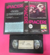 VHS Film IL PIACERE Joe D'Amato Lilli Carati LUCAS VIDEO KISS MANIA(F172) no dvd