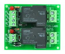 Coil 12V Passive 2 Channel SPST-NO 30A 30Amp Power Relay Module.