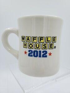 Waffle House 2012 Coffee Mug America The Beautiful Heavy Ceramic Flag Patriotic