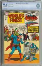 WORLD'S FINEST COMICS #163 CBCS 9.6 OW/WH PAGES
