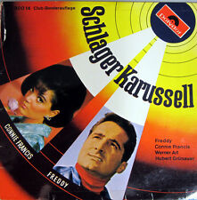 Single EP / SCHLAGERKARUSSEL 1968 / MADE IN AUSTRIA / FREDDY / CONNIE FRANCIS /