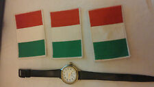 VECCHIA PATCH OLD VINTAGE  SPORT CALCIO FOOTBALL FLAG SKULL ITALIA
