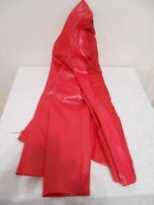 LEDERJACKE in Rot SCHÖN für Damen GRÖßE 36 Damenlederjacke Edel Jacke NEUWERTIG