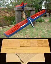 "79"" wingspan Sagitta 600 R/c Glider short kit/semi kit and plans"