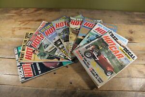 Vintage 9x Hot Car Power & CustomMagazine - 1977/1978 - Collection/Joblot