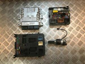 11-15 PEUGEOT 3008 1.6 HDI DIESEL AUTO COMPLETE ENGINE ECU KIT 9676761080