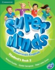 Super Minds American English Level 2 Student's Book with DVD-ROM by Herbert...