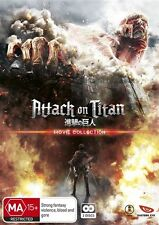 Attack On Titan (Blu-ray, 2016, 2-Disc Set)