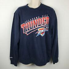 Oklahoma City Thunder OKC Mitchell & Ness Basketball NBA Sweatshirt Adult XL