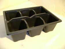 40 X 6 CELL 1/2 SIZE SEED TRAY INSERTS EXCELLENT VALUE XXXXXXX