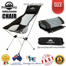 Camping Chair Outdoor Lightweight Portable Folding Seat Water Weather Resistant