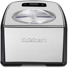 Cuisinart Ice Cream Gelato Maker Homemade 1.5 Qt Commercial Compressor Freezer