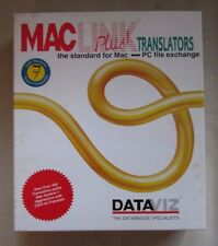 Mac Link Plus Translators PC File Exchange Floppy Disk Software + Manual Dataviz