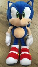 Sonic The Hedgehog Plush Rare Soap Shoes 10th Anniversary Collectible Official