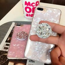 Cell Phone Jewel Socket Expanding Mount Finger Grip Stand Holders Mobile Diamond