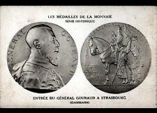 PARIS VI° / MEDAILLES de la MONNAIE / Général GOURAUD à STRASBOURG par DAMMANN
