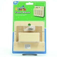 Create and Learn Coin Bank Build a Coi