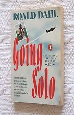 GOING SOLO BY  ROALD DAHL, LIKE NEW, FREE SHIPPING WITHIN AUSTRALIA