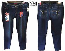NWT$64 24 Plus YMI Fit Solution Denim Skinny Stretch Jeans Pants Wanna Beta Butt