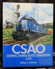 MORNING SUN BOOKS - CONRAIL SHARED ASSETS OPERATIONS In Color - HC 128 Pages