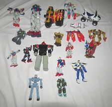 Transformers etc. Mixed Group of NINETEEN - Bandai & others 2000/1/2/3