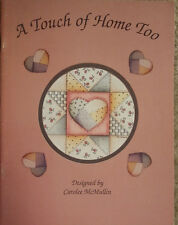 A Touch of Home Too By Carolee McMullin Pen & Ink Designs Tole Painting Book VTG