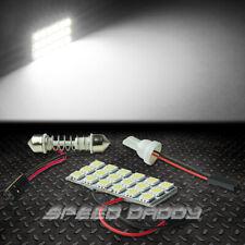 T10 18 SMD 18SMD 5050 CAR/TRUCK WHITE LED INTERIOR DOME/MAP 12V LIGHT BULB/PANEL