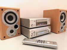 Denon DRA-F101 HiFi Component System CD tuner Amp +Mission Speakers +Bluetooth2