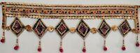 Indian Luxury Door Window Valance Traditional Vintage Hanging Toran  Patchwork