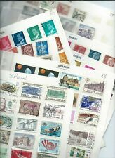 Spain stamps. Collection of mainly used on 9 pages.  (F639)