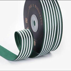 Striped Ribbon, Gift Wrapping, Ribbon Decoration Craft Ribbon 25 mm Wide #2