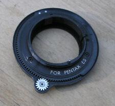 Tamron Adaptall  2 II  mount Pentax ES ESII  m42 open aperture