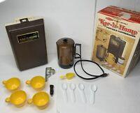 Vintage Kar 'n Home Portable Coffee Maker - For Traveling Camping Boating & More