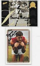 HALL OF FAME  & LEGEND CARDS SIGNED BY BARRIE ROBRAN