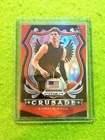 LAMELO BALL RED PRIZM CRUSADE ROOKIE CARD # /299 HORNETS SP RC 2020 Panini Prizm