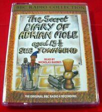 Sue Townsend The Secret Diary Of Adrian Mole Aged 13 3/4 2-Tape Audio N.Barnes